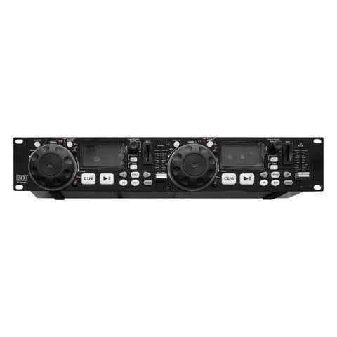 MX Professional Dual Media Player with playback from multiple sources two USB ports and RCA input 2USBDSP Wired DJ Controller