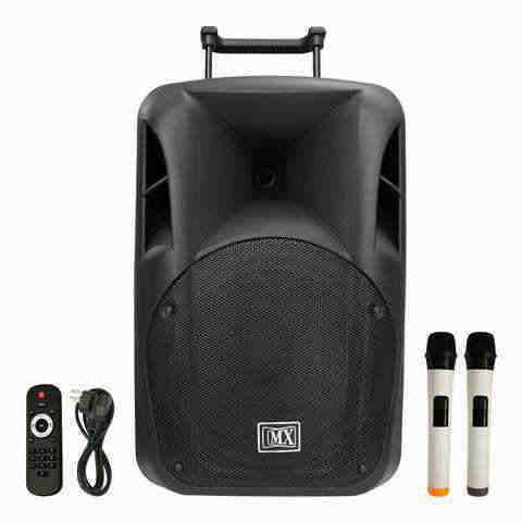 MX 15 inch PORTABLE MULTIPLE MEDIA SPEAKER SYSTEM PROFESSIONAL SERIES MX 3715 PS