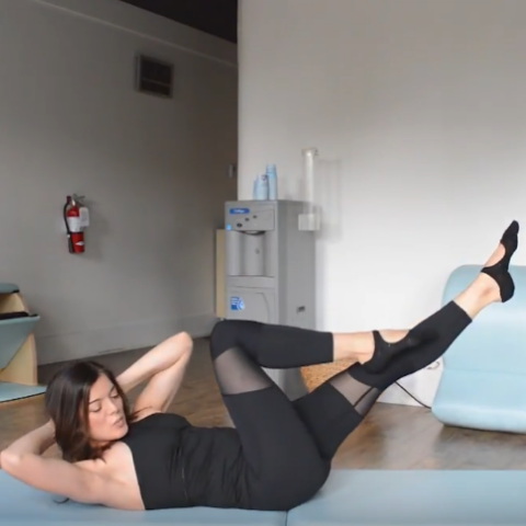 Ab Blaster Pilates Workout