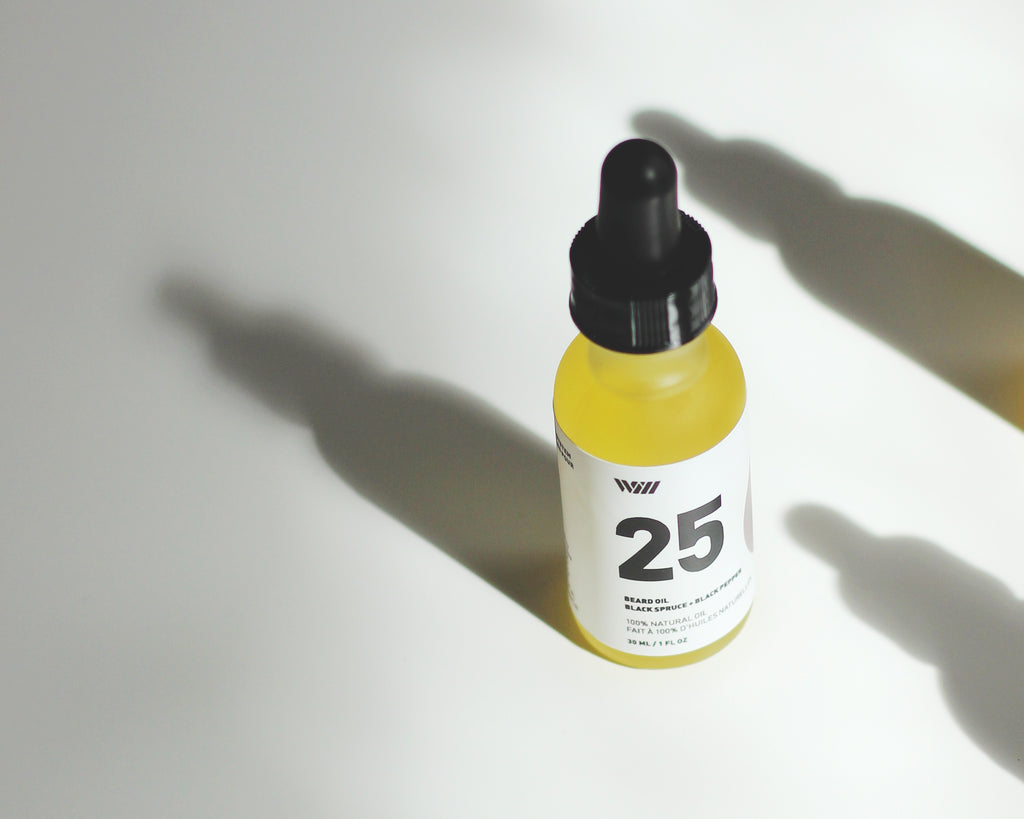 WILL  25 BLACK SPRUCE + BLACK PEPPER BEARD OIL