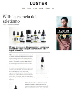 Way Of Will Press Mentions Luster Magazine