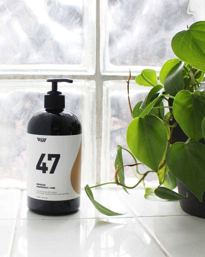 47 ENERGIZE | 100% NATURAL BODY WASH