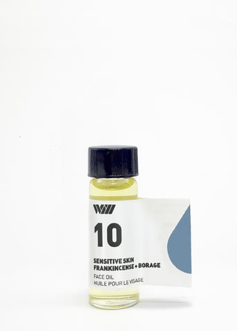 10 SENSITIVE SKIN | FACE OIL SAMPLE