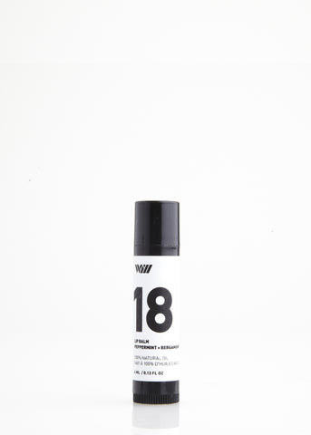 18 PEPPERMINT + BERGAMOT | LIP BALM