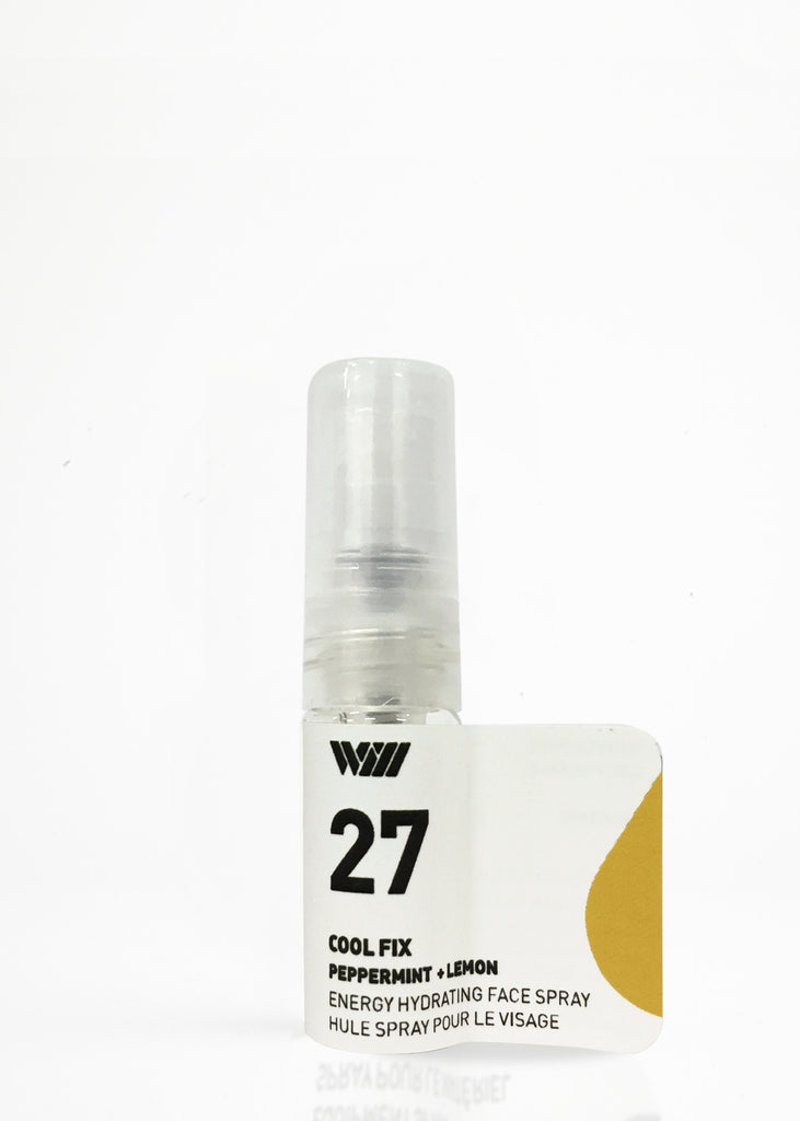 27 COOL FIX : CLEAR YOUR MIND | ENERGIZING FACIAL SPRAY SAMPLE
