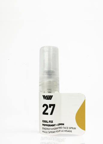 27 COOL FIX ENERGIZING FACIAL SPRAY SAMPLE | CLEAR YOUR MIND
