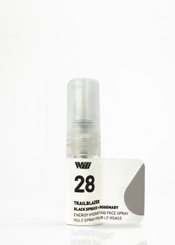 28 TRAILBLAZER ENERGIZING FACIAL SPRAY SAMPLE | FOCUS YOUR MIND