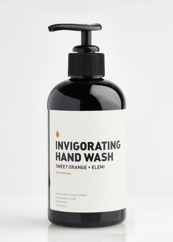 INVIGORATING ESSENTIAL OIL HAND WASH