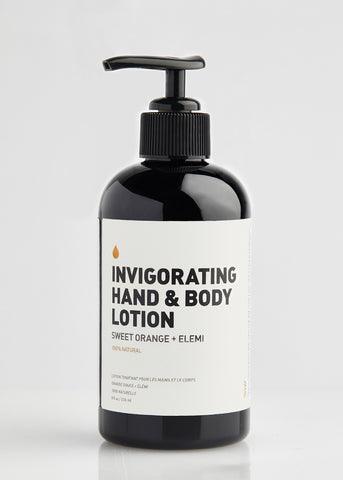 INVIGORATING HAND & BODY LOTION
