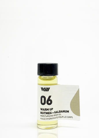 Moisturizing Body Oil Sample