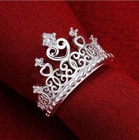 "Astounding ring ""Crown"""