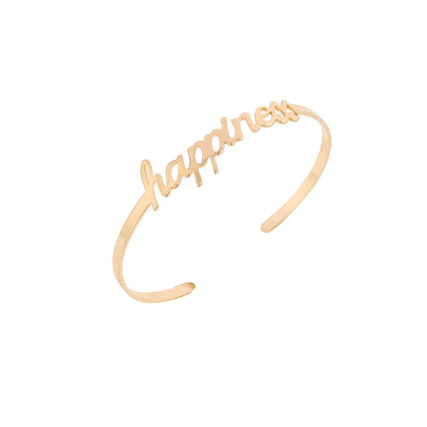 "Resizable Bracelet ""Happiness"""