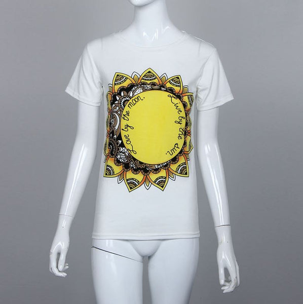 Summer t-shirt with print