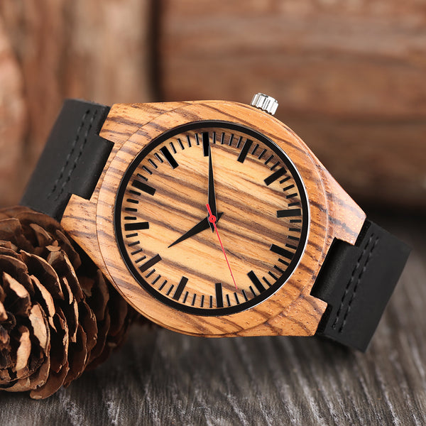 Original Wooden Bamboo Watch