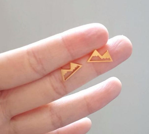 "Earrings ""Mountain"""