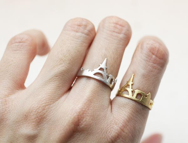 Wanderlust set of rings