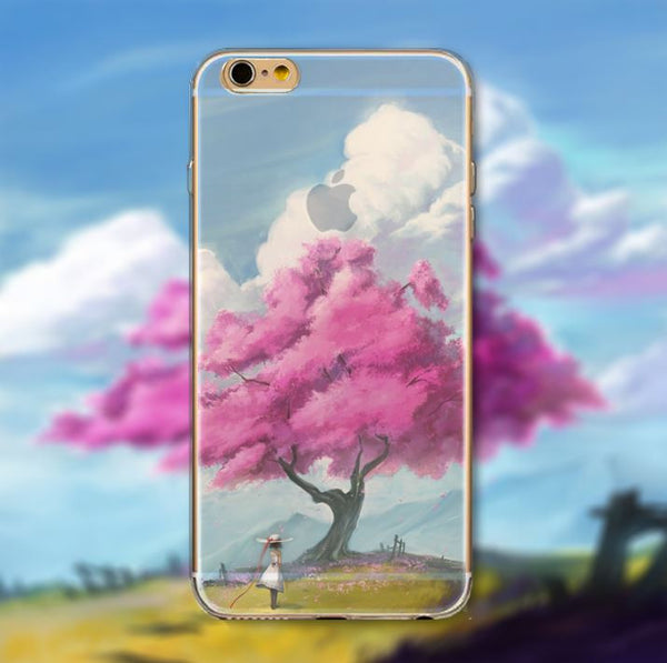 "Cases ""nature"" for Iphone 5/6"