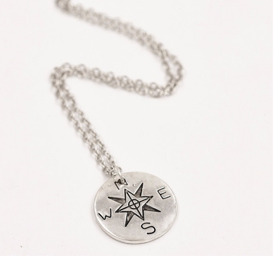 "Necklace ""compass"""