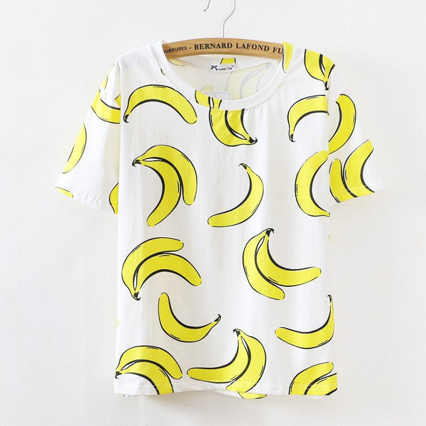 "T-shirts ""fruits"""