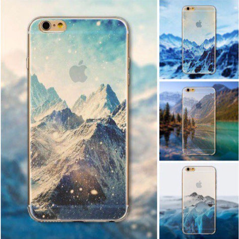 """Mountain"" Cases for Iphone 5/6"
