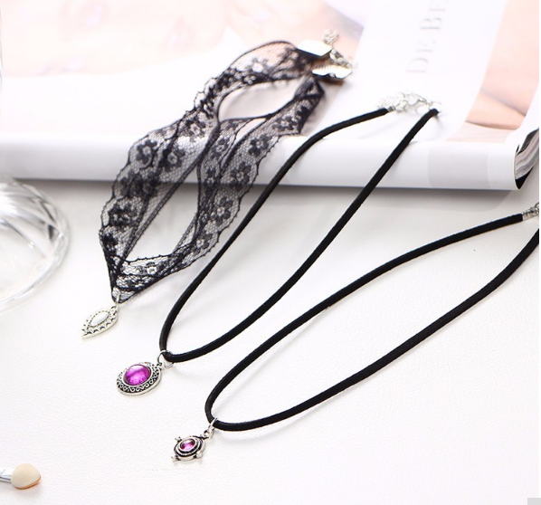 3 Pcs/Set Lace Chokers