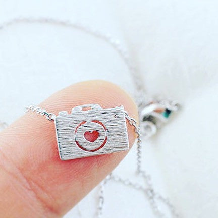 "Necklace ""Camera"""