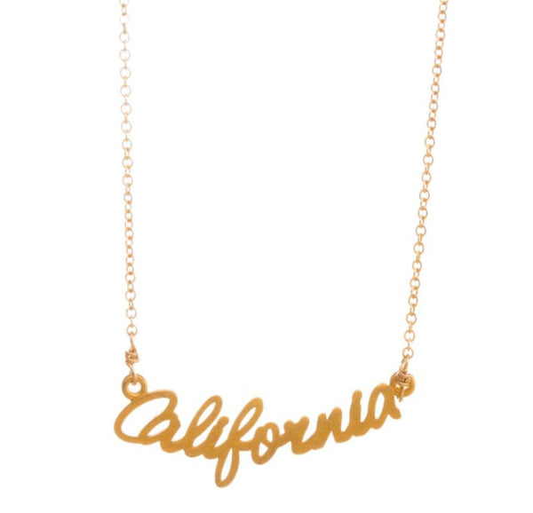 "Necklace ""California"""