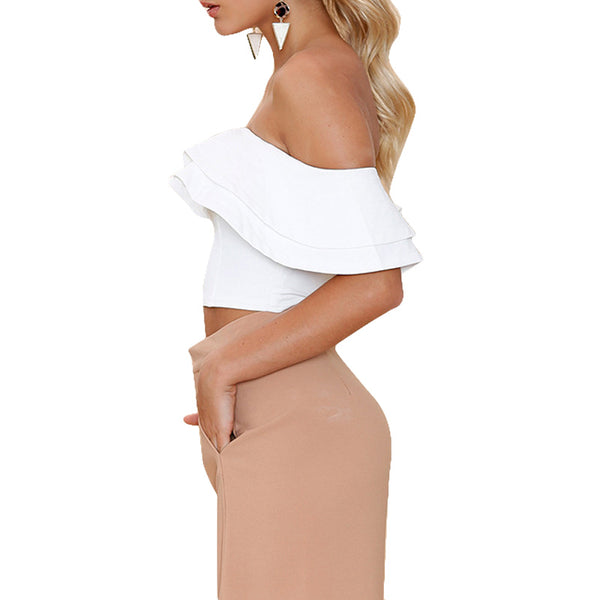 Sexy Off Shoulder Womens Tops