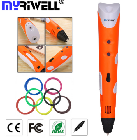 Myriwell 3D Drawing Pen - Super Awesome Gift 2017