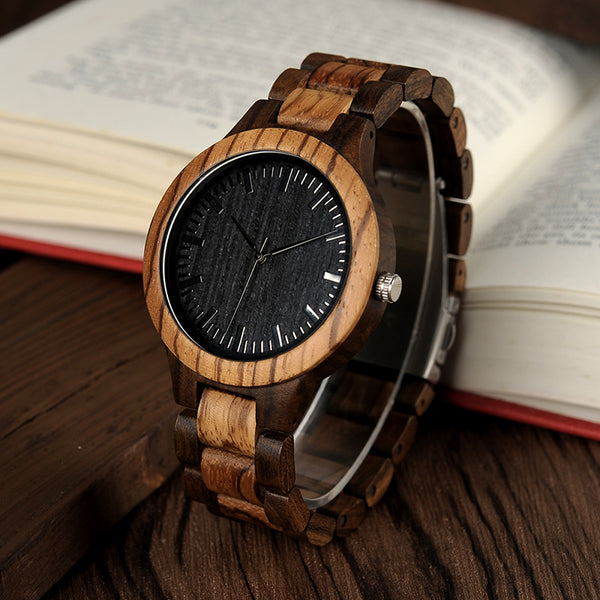 Designer Wood Watch
