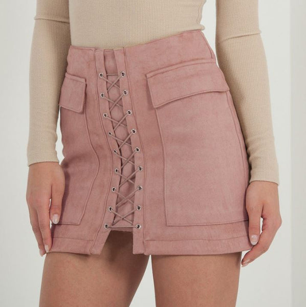 Sexy skirt with lacing