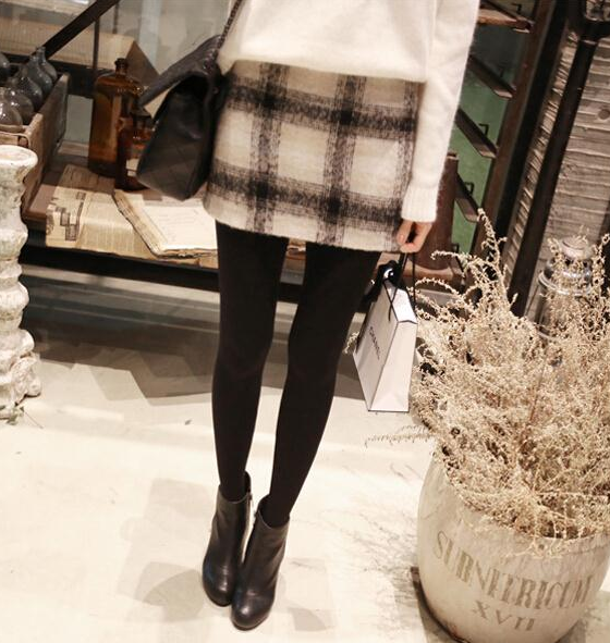 Warm woolen skirt
