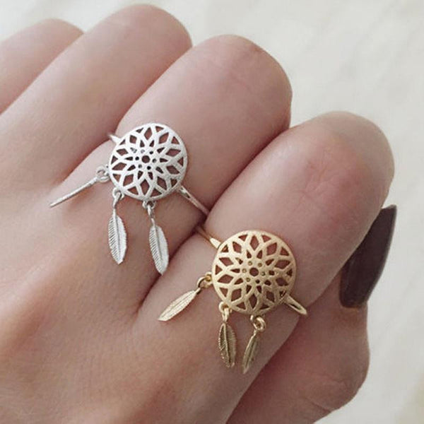 "Resizable ring "" Dreamcatcher"""