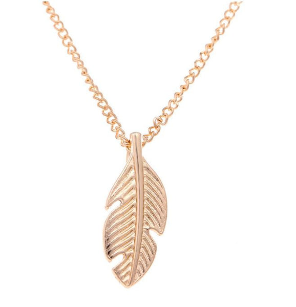 "Necklace ""Light sa s feather"""