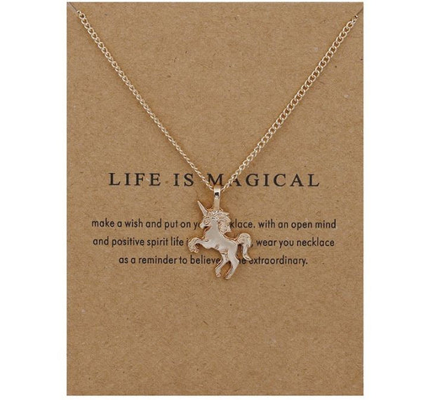 "Necklace ""Life is magical"""