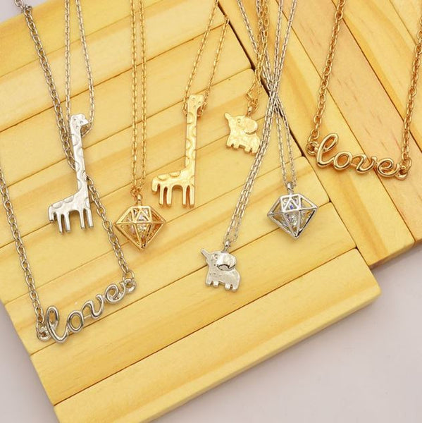 Different Necklaces