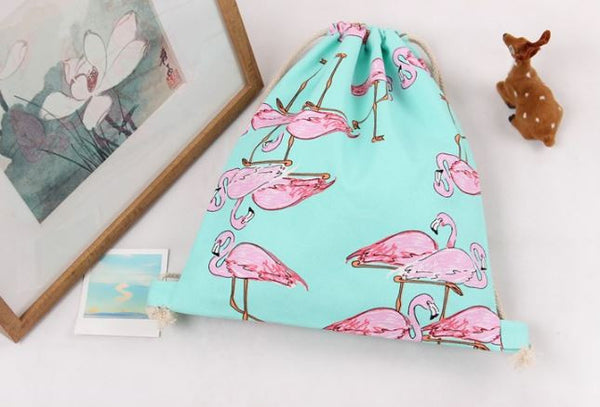 Daily Backpack with flamingo