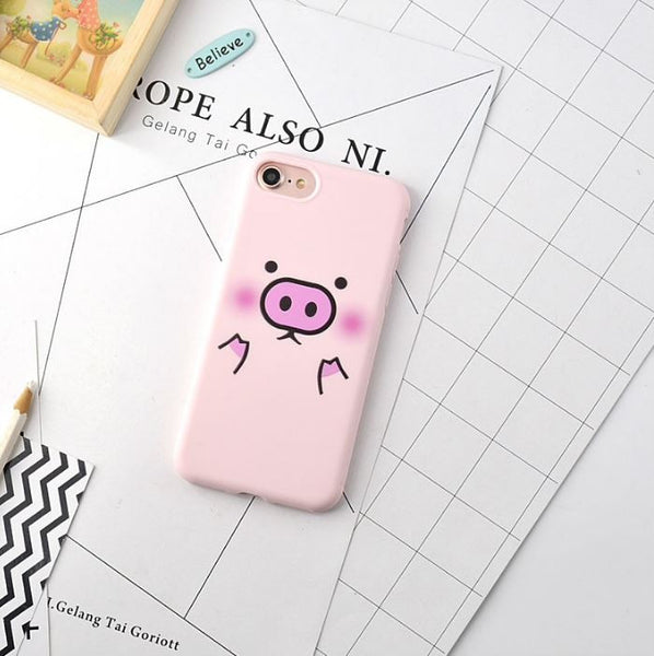 Cute pink cases