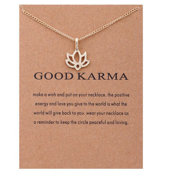 "Necklace ""Good carma"""