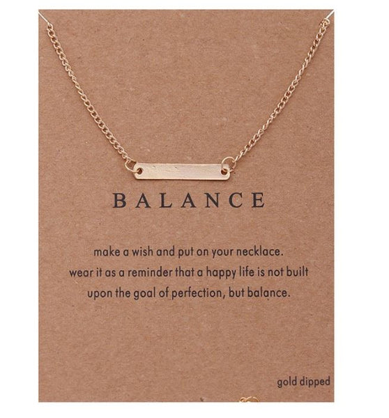 "Necklace ""Balance"""