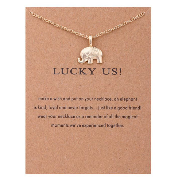 "Necklace ""Lucky Us"""