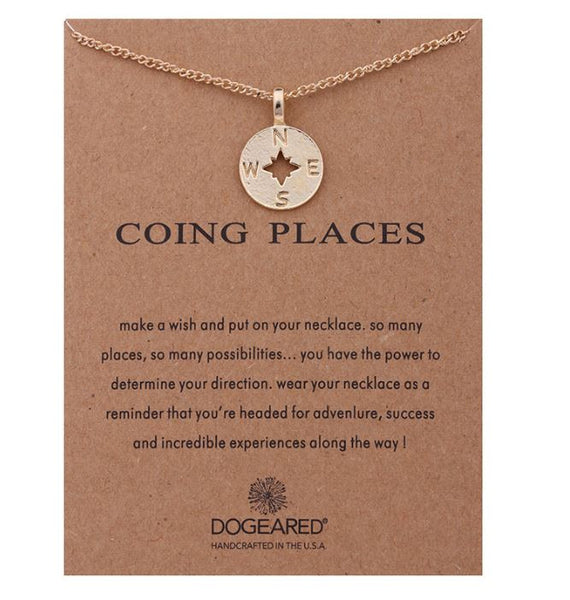 "Necklace ""Going Places"""