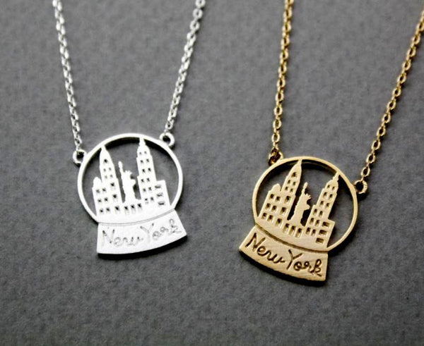 "Necklace ""New York"""