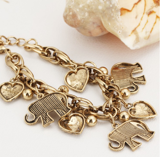 Bracelet with elephants