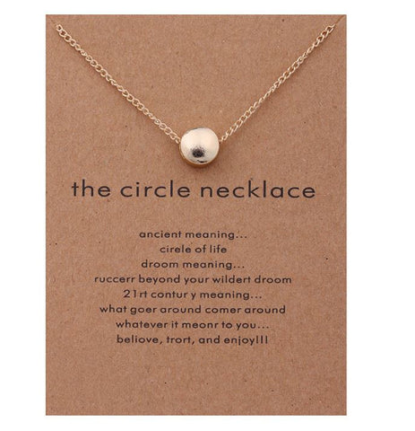 The cirkle necklace