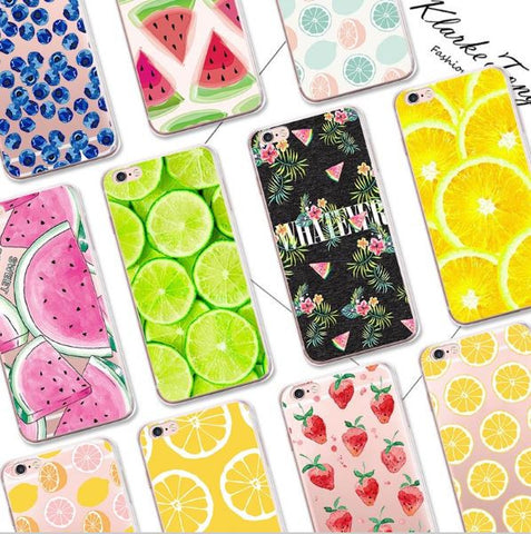 Bright cases with print