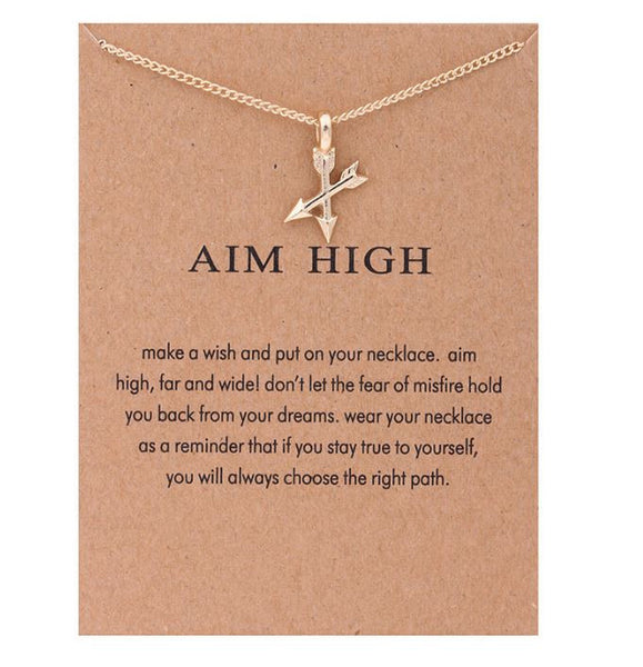 "Necklace ""Aim High"""
