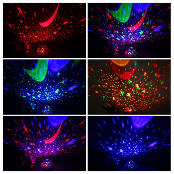 Amazing Spin Night Sky Projector