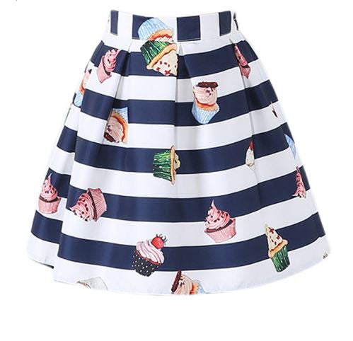 Skirt with cakes