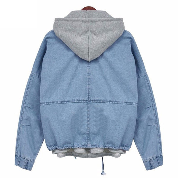 Casual jeans coat